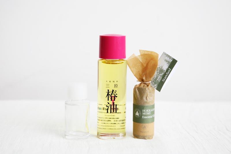北海道モミと椿油のしっとりケアセット